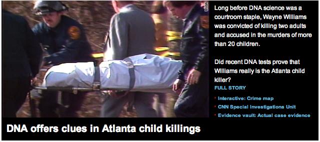 Wayne williams atlanta child killer fiber